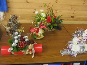 Chrismas arrangements