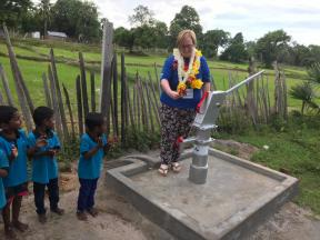 Well at pre-school in Sri Lanka