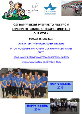 London to Brighton & Farnham Charity Bike Ride