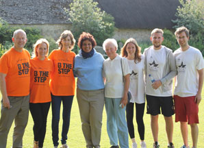 The Ost team at Stanton Harcourt, Philip's family home