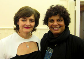 Dilanee & Cherie Blair in the Sri Lanka High Commission London