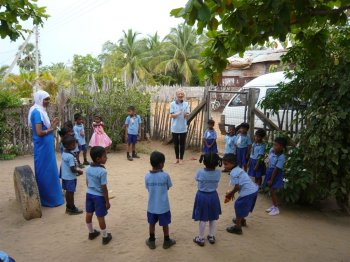 Pre school games in Sri Lanka