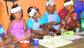 Sponsor the pre-school lunch project