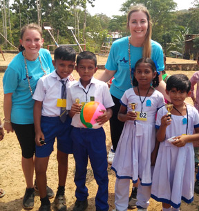Secondary School Volunteers in Sri Lanka