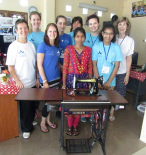 Enabling sewing businesses in Sri Lanka
