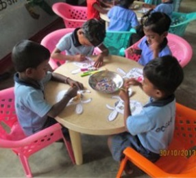 Tables, chairs and more for our pre-schools in Sri Lanka