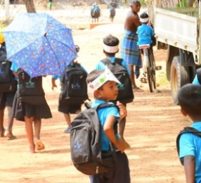 School uniforms and bags