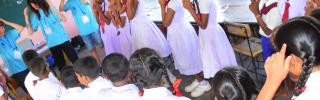 5 visits by Calthorpe Park School Fleet to link schools in Batticaloa